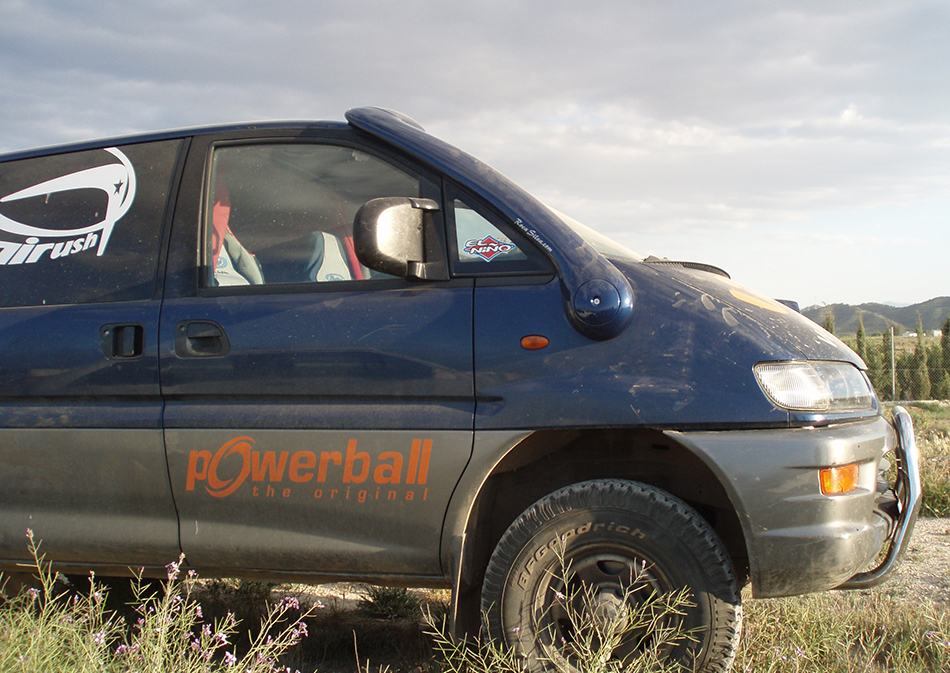 Snorkel Roca Silva Mitsubishi Space Gear