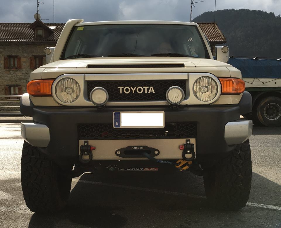 Snorkel Roca Silva Toyota FJ Cruiser