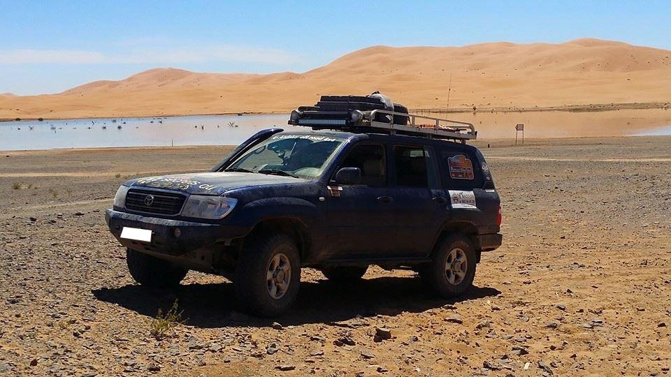 Snorkel Roca Silva Toyota HDJ100